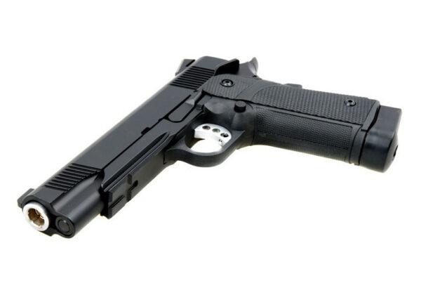 Pistol Airsoft KJW KP-05 1J CO2 Cu Recul Metal/Polimer Negru