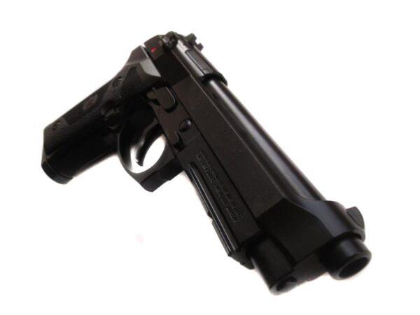 Pistol Airsoft KJW M9 VE 1J Green Gas Cu Recul Metal Negru