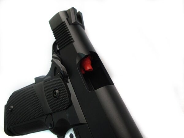 Pistol Airsoft KJW KP-05 1J Green Gas Cu recul Metal/Polimer Negru