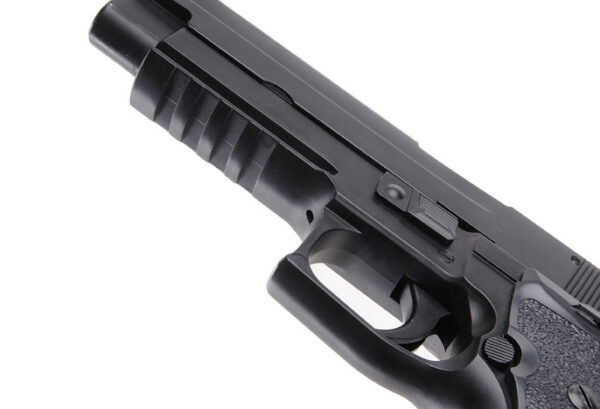 Pistol Airsoft KWC S226-S5 1.8J CO2 Cu Recul Metal Negru