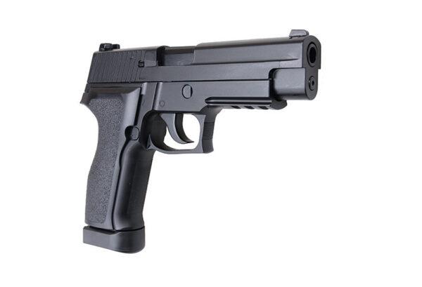 Pistol Airsoft KJW KP-01-E2 1.2J CO2 Cu Recul Metal Negru