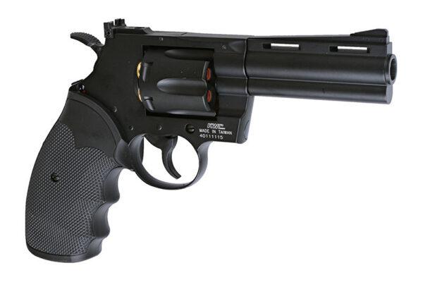Revolver Airsoft KWC 4″ .357 1.9J CO2 Metal Negru