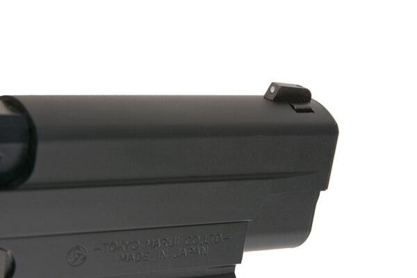 Pistol Airsoft TokyoMarui Model 226 Rail 0.9J Green Gas Cu Recul Metal/Polimer Negru