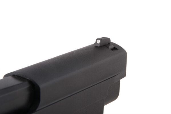 Pistol Airsoft KJW KP-01-E2 1J Green Gas Cu Recul Metal Negru