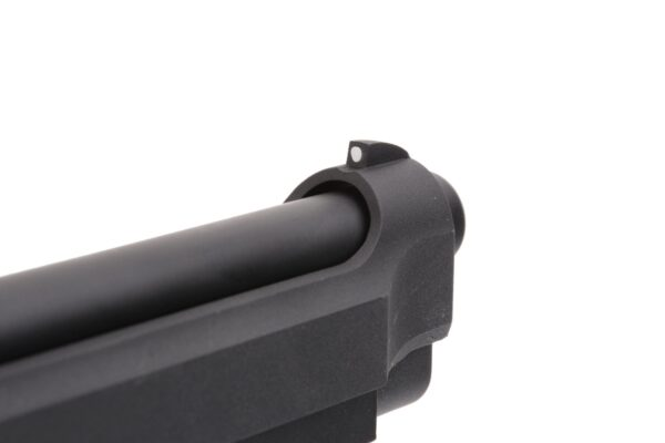 Pistol Airsoft SRC M92 Vertec 1J Green Gas Cu Recul Metal Negru