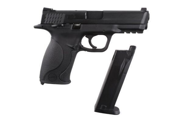 Pistol Airsoft  KWC M40 1.4J CO2 Cu Recul Metal/Polimer Negru