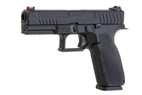 Pistol Airsoft KJW KP-13 1.1J Green Gas Cu Recul Metal/Polimer Negru