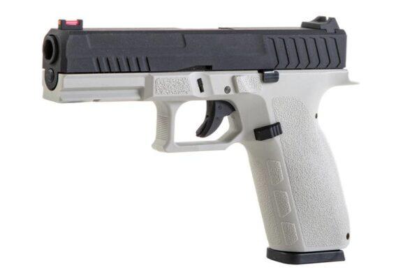 Pistol Airsoft KJW KP-13 1.2J CO2 Cu Recul Metal/Polimer Negru/Gri
