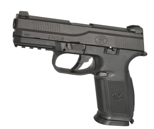 Pistol Airsoft Cybergun FN FNS-9 0.8J Green Gas Cu Recul Metal/Polimer Negru