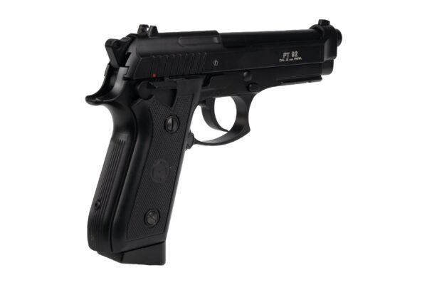 Pistol Airsoft Cybergun PT92 1.8J CO2 Cu Recul FULL AUTO Metal Negru