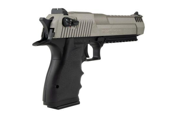 Pistol Airsoft Cybergun DESERT EAGLE L6 1.1J CO2 Cu Recul FULL AUTO Metal/Polimer Gri/Negru