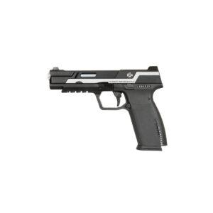 Pistol Airsoft G&G Piranha MK I 1J Green Gas Cu Recul Metal/Polimer Negru/Argintiu