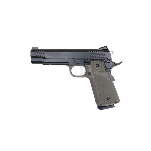 Pistol Airsoft KJW KP-05 1J Green Gas Cu recul Metal/Polimer Negru/Verde