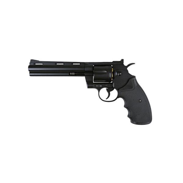 Revolver Airsoft KWC 6″ .357 2.3J CO2 Metal Negru