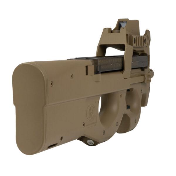 SMG Airsoft Cybergun P90 Standard FDE Red Dot 1.7J Tan