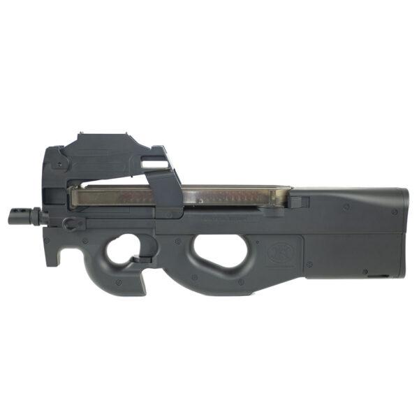 SMG Airsoft Cybergun FN P90 Red Dot 1.7J Negru