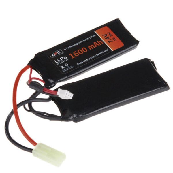 Acumulator LiPo GFC 7.4V 1600mAh 20C Tamiya Mica