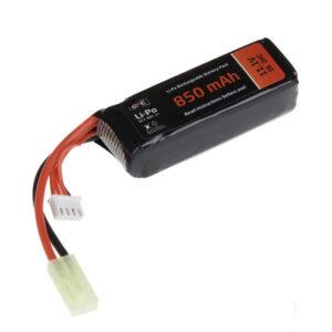 Acumulator LiPo GFC 11.1V 850mAh 3S 20C Tamiya Mica
