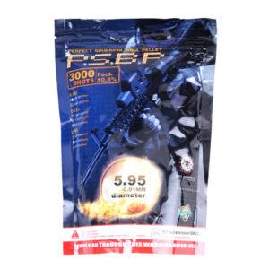 Bile airsoft G&G Armaments 0,25 g Perfect BBs 3000 BBs