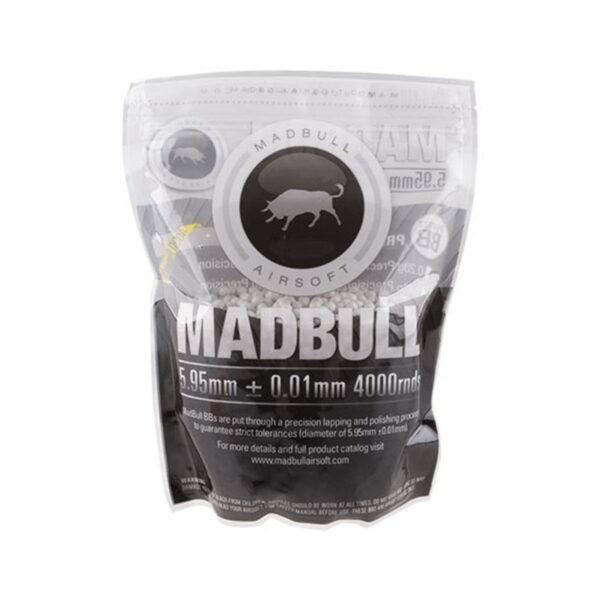Bile airsoft MadBull 0.23g Precision BBs  – 4000 BBs