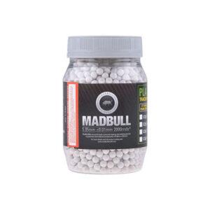 Bile airsoft MadBull 0.40g Heavy BBs (2000 BBs/Bidon)