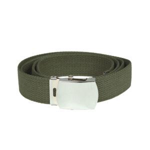 Curea Pantaloni MilTec US WEB BELT 130cm Verde