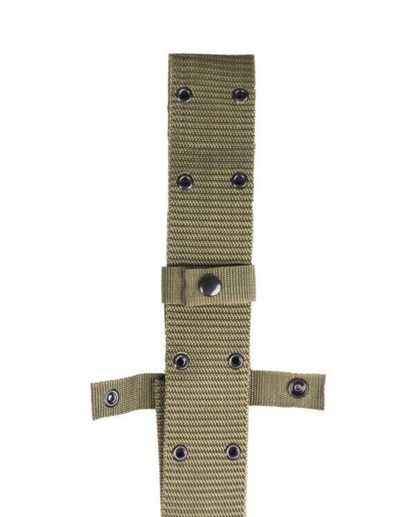 Curea Tactica MilTec US LC2 PISTOL BELT 120×5.5cm Verde L