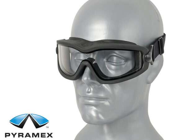 Ochelari PYRAMEX Balistici V2G Strat Dual Antiaburire Transparent