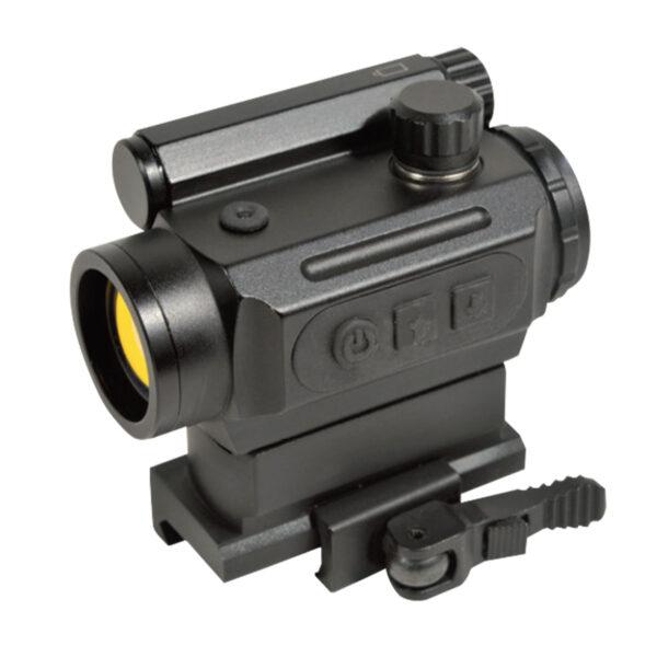 Red dot Swiss Arms Intensitate Auto Adaptativa QD Reticul Rosu, Negru