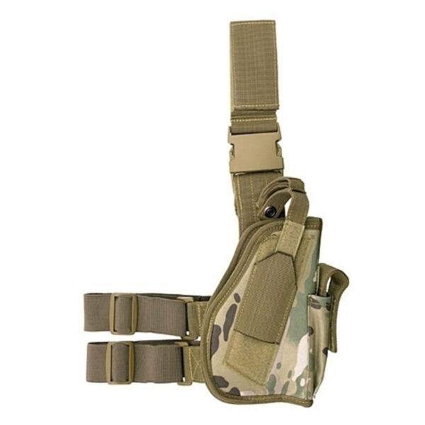 Toc pistol 8FIELDS De Picior, Universal, Multicam