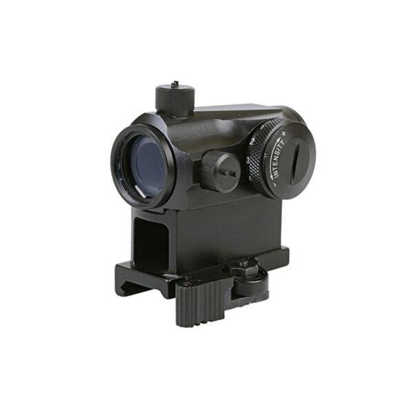 Red dot AIMO T1 Reticul Rosu/Verde 5 Niveluri de intensitate, Sistem de prindere RIS QD, Capace de protectie, Negru