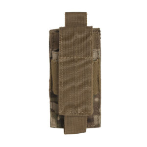 Port incarcator pistol Molle MilTec Multicam