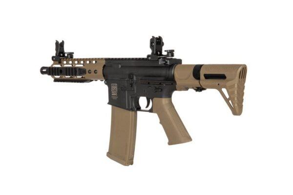 "Pusca Airsoft Specna Arms SA-C12 PDW COREâ""¢ 1.3J Negru/Tan"