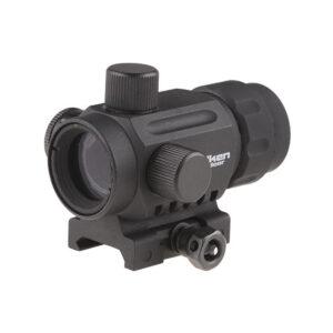 Red dot VALKEN RDA20 V Mini, 5 Niveluri de intensitate, Sistem de prindere RIS, Negru