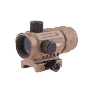 Red dot VALKEN RDA20 V Mini, 5 Niveluri de intensitate, Sistem de prindere RIS, Tan