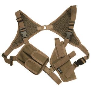 Toc pistol MilTec Umar, cu portincarcator, universal, Tan