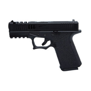 Pistol Airsoft AWCustom VX9 mod 2 1J Green Gas Cu Recul Metal/Polimer Negru
