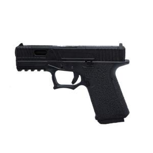Pistol Airsoft AWCustom VX9 mod 3 1J Green Gas Cu Recul Metal/Polimer Negru