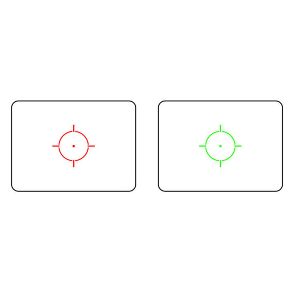 Red dot GFC 552 Reticul Rosu/Verde, Reglare intensitate reticul, Prindere RIS, Capace de protectie, Tan