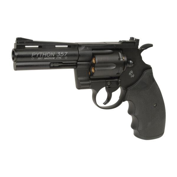 Revolver Airsoft Cybergun Colt Python 4″ 1.9J CO2 Metal Negru
