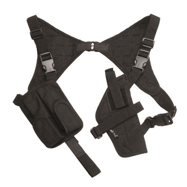 Toc pistol MilTec Umar, cu portincarcator, universal, Negru