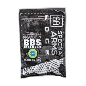 "Bile airsoft Specna Arms 0.45g EDGEâ""¢ BIO Precision BBs – 1000 BBs"